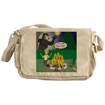 Scary Campfire Stories Messenger Bag