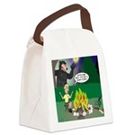 Scary Campfire Stories Canvas Lunch Bag