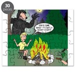Scary Campfire Stories Puzzle
