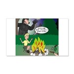 Scary Campfire Stories 20x12 Wall Decal