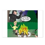 Scary Campfire Stories Postcards (Package of 8)