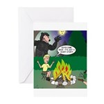 Scary Campfire Stories Greeting Cards (Pk of 10)