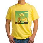 Turkey and Eagle PR Yellow T-Shirt
