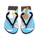 Turkey and Eagle PR Flip Flops