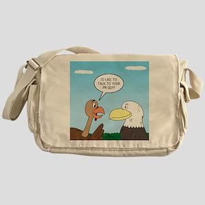 Turkey and Eagle PR Messenger Bag