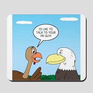 Turkey and Eagle PR Mousepad