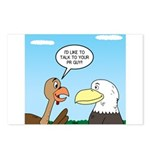 Turkey and Eagle PR Postcards (Package of 8)