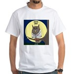 Doctor Whoo White T-Shirt