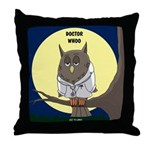 Doctor Whoo Throw Pillow