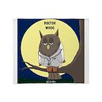 Doctor Whoo Throw Blanket