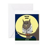Doctor Whoo Greeting Card