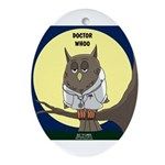 Doctor Whoo Ornament (Oval)