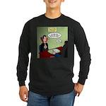 Dracula Life Insurance Long Sleeve Dark T-Shirt