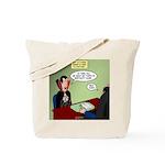 Dracula Life Insurance Tote Bag