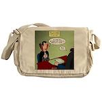 Dracula Life Insurance Messenger Bag