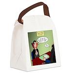 Dracula Life Insurance Canvas Lunch Bag