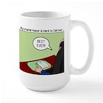 Dracula Life Insurance Large Mug