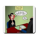 Dracula Life Insurance Mousepad