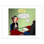 Dracula Life Insurance Small Poster