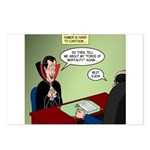 Dracula Life Insurance Postcards (Package of 8)