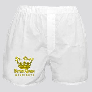 St Olaf Butter Queen Boxer Shorts