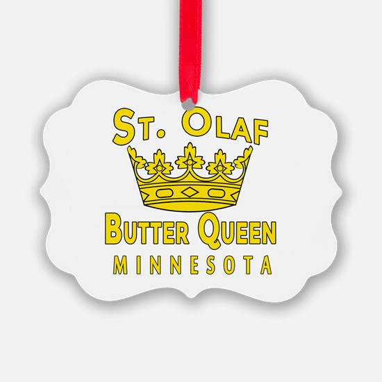 St Olaf Butter Queen Ornament
