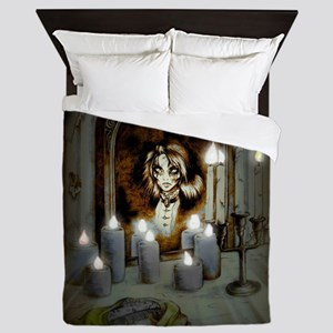 Mary's in the Mirror Queen Duvet