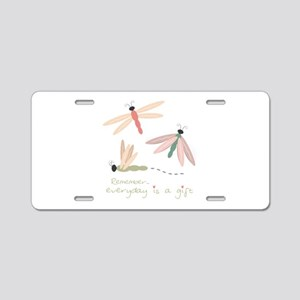Dragonfly Day Gift Aluminum License Plate