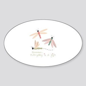 Dragonfly Day Gift Sticker