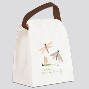 Dragonfly Day Gift Canvas Lunch Bag