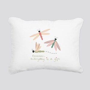 Dragonfly Day Gift Rectangular Canvas Pillow