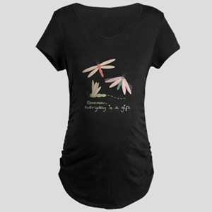 Dragonfly Day Gift Maternity T-Shirt