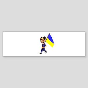 Ukraine Girl Bumper Sticker