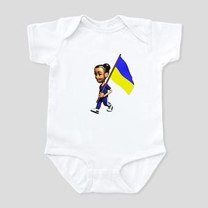 Ukraine Girl Infant Bodysuit