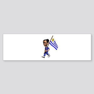 Uruguay Girl Bumper Sticker