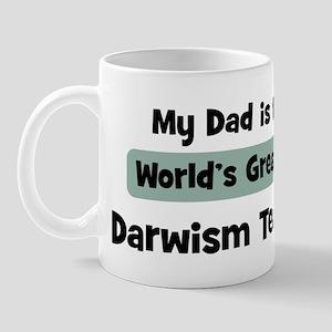 Worlds Greatest Darwism Teach Mug