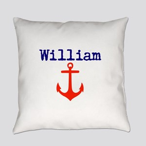 William Anchor Everyday Pillow
