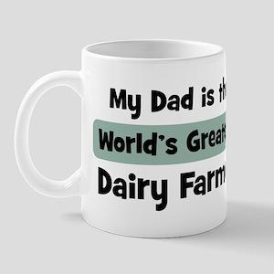 Worlds Greatest Dairy Farmer Mug