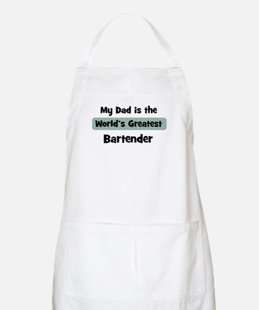 Worlds Greatest Bartender BBQ Apron