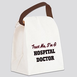 Trust me I'm a Hospital Doctor Canvas Lunch Bag