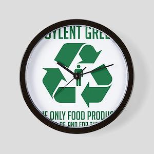 Soylent Green Wall Clock