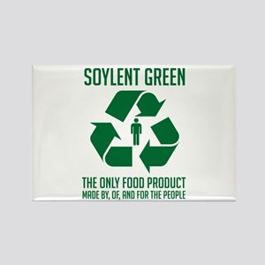 Soylent Green Rectangle Magnet