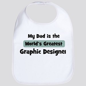 Worlds Greatest Graphic Desig Bib