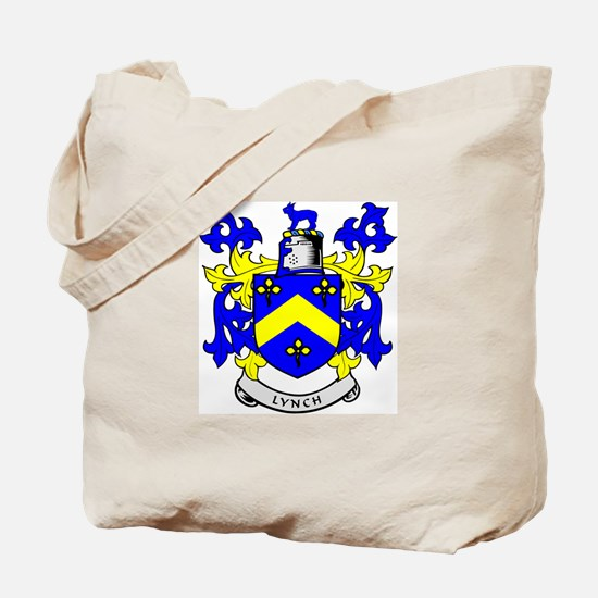 LYNCH Coat of Arms Tote Bag