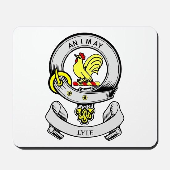 Lyle Coat Of Arms Mousepad