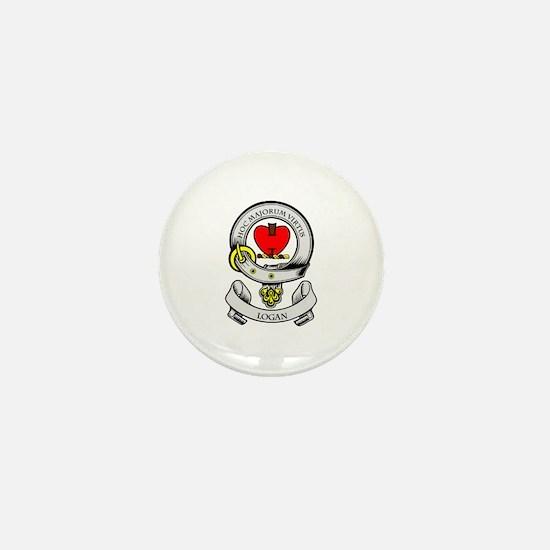 LOGAN Coat of Arms Mini Button