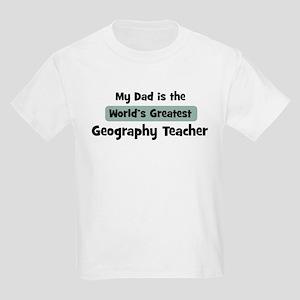 Worlds Greatest Geography Tea Kids Light T-Shirt