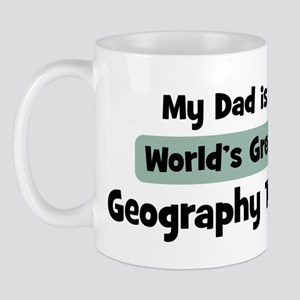 Worlds Greatest Geography Tea Mug