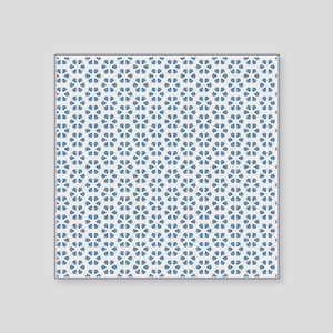 "Elegant Decorative Seamless Square Sticker 3"" x 3"""