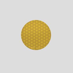 Elegant Decorative Seamless Pattern Mini Button